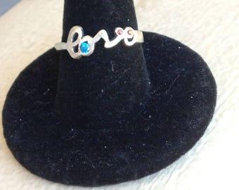 Love Word Ring