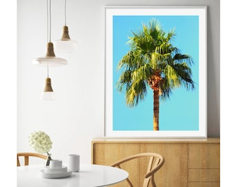 TROPICAL PRINT, Tropical Download, Palm Tree Print, Tropical Palm Tree, Tropical Poster, Palm Tree Download, Tropical Wall Art, Tropical Art