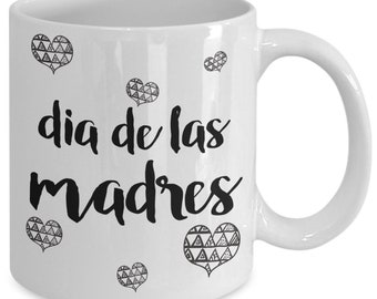 """Celebrate momma this """"mothers day"""" dia de las madres mug i love you gifts for mom goes with mothers day cards  mothers day gifts mother g..."""