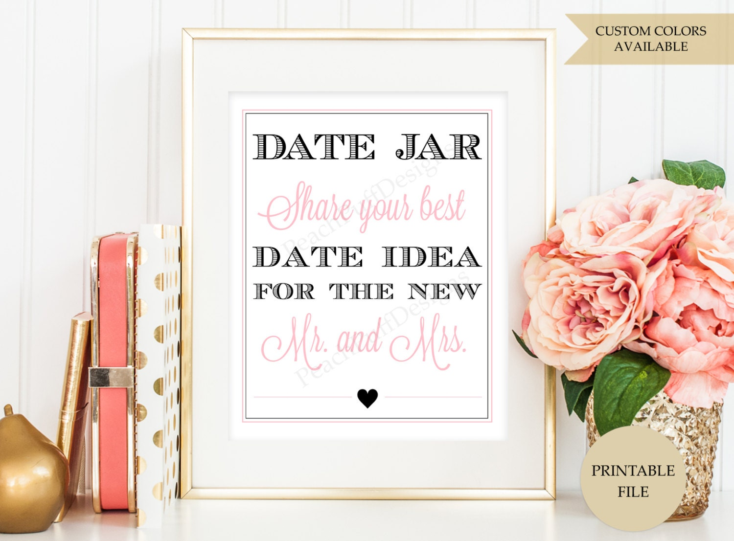 image about Date Night Jar Printable named Day Evening Jar Printable Signal Drama