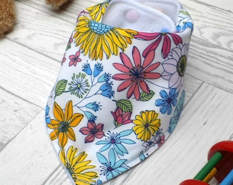 baby bandana bib, baby gift, dribble bib, new baby gift, toddler, baby bib, drool catcher, new baby gift idea, baby girl, baby accessories