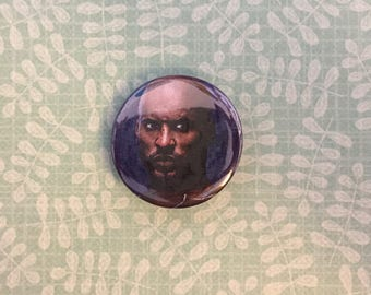 Shadow Moon / American Gods Upycled Pinback Button