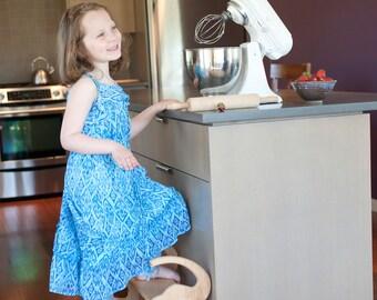 Kitchen Elephant Stool; Kids Bathroom Stool; Elephant Furniture; Elephant Nursery; Personalized Kids Gifts; Gift for Baby; Elephant Kitchen
