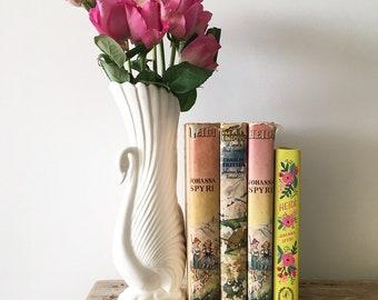 Vintage Swan Vase Retro Planter Home Decor