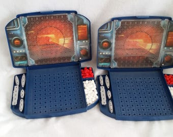 Battleship Game replacement boards and pieces - lot of 2