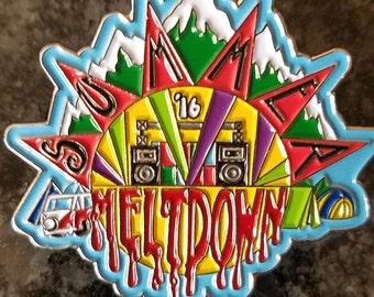 Summer Meltdown '16 Pin