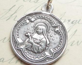 St Jane de Chantal Medal / St Francis de Sales medal- Patron of in-law problems, forgotten people & loss of parents