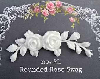 Rounded Rose swag