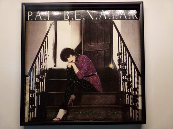 Glittered Record Album - Pat Benatar - Precious Time