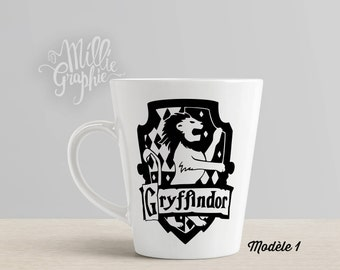 Deco stickers, Gryffindor, Harry Potter decor, mug Harry Potter