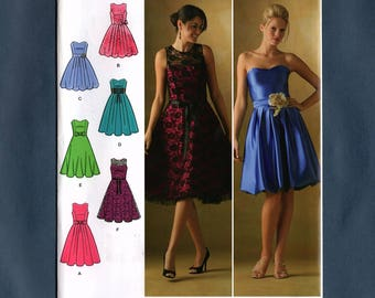 Simplicity 4070, Misses Special Occasion Dress, Plus Size, Party Dress, Sewing Pattern, Simplicity D0530, Sizes 12, 14, 16, 18, 20, New