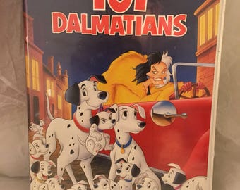 101 Dalmations VHS
