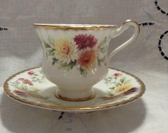 Paragon Autumn Glory teacup
