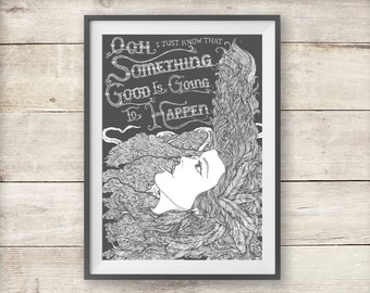 Kate Bush - Cloudbusting - Print