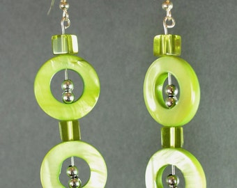 Round and Round Earrings - FREE Shipping USA