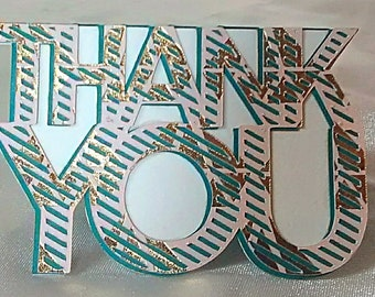 Handmade Thank You Note Cards