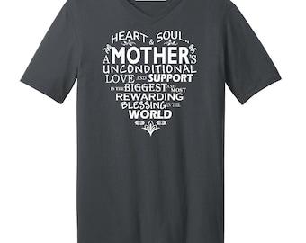 MOM Word Cloud Mother's Day Gift - Men's V-neck