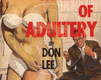 A Matter of Adultery - 10x15 Giclée Canvas Print
