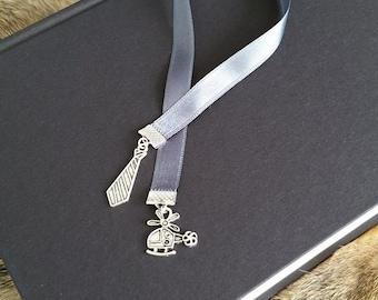 Ribbon Bookmark ' Mr. Grey ' Fifty shades