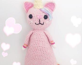 Unikitty crochet pattern english/dutch