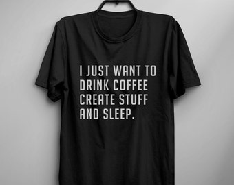 Coffee gift funny tshirt Tumblr Tee Shirts for teens gift clothes instagram Graphic Tee Womens TShirts