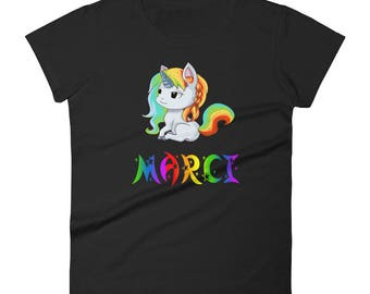 Marci Unicorn Ladies T-Shirt