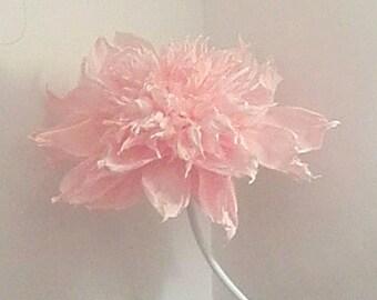 Gran papel de flores en el tallo, para eventos, fiestas, decoración, regalo para el estudio de la apertura o inauguración tienda.