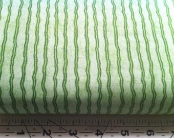 Hungry Animal Alphabet - Green wavy stripe
