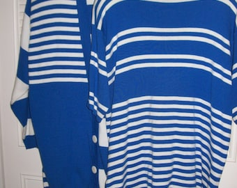 Three Piece Large,  I B Diffusion Three Pieced Outfit,  Skirt, Top, Jacket- Cruise Resort Perfect Lg