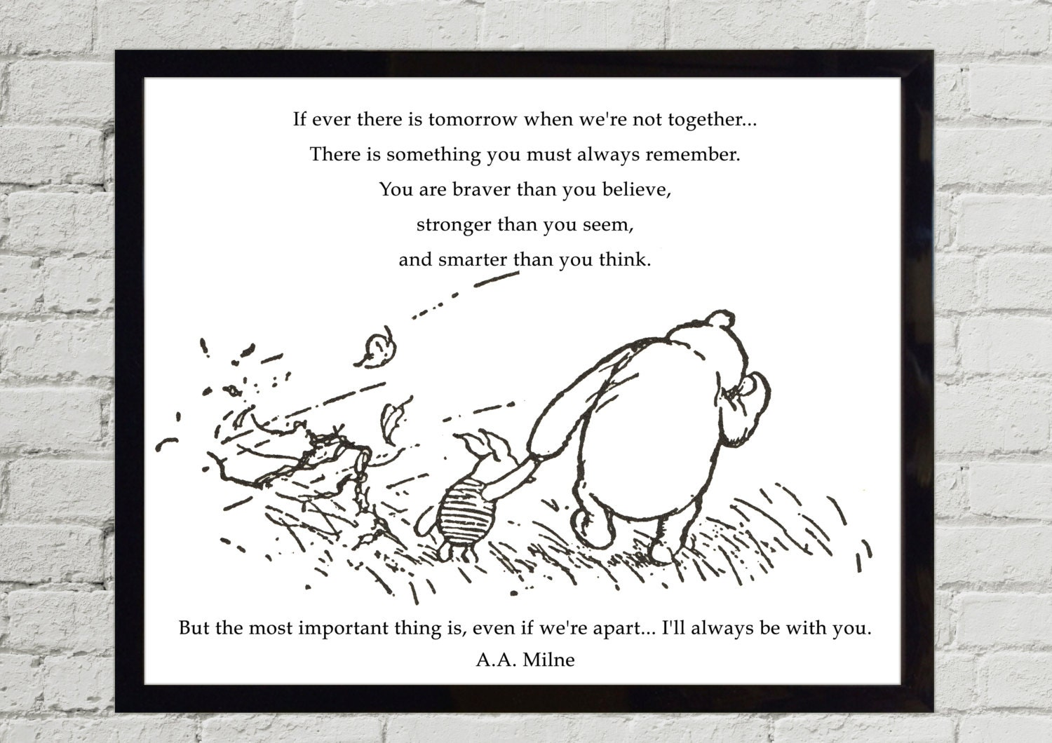 Pooh Quotes About Friendship Winnie The Pooh Quotes If Ever There Is Tomorrow When