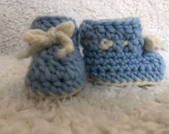 Wool Baby Booties,Crochet Baby Pattern Weavy Baby, baby shower gift, Crochet Baby Shoes,Crochet Baby Booties Crochet Pattern Ankle Boots