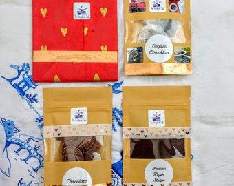 Mini Blind Date Book/Mystery Book/Suprise Book and Tea/Coffee/Chocolate