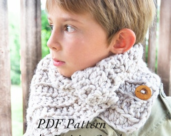 Crochet PATTERN Toddler Kids Adult nackwarmer cowl scarf infinity. (030)Permission To Sell Finished Items