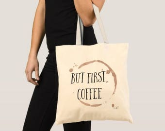 But first, Coffee- Tote