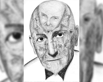 Pirandello, portrait of One hundred thousand nobody