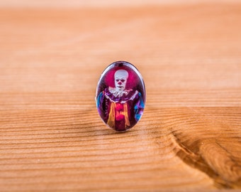This Ring / Ring it / Clown / Horror / Cabochon / jewelry / horror / Stephen king