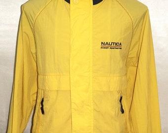 Men's Vintage 90s NAUTICA Ocean Sportman Windbreaker Jacket, Authentic Brand and Excellent Conditions