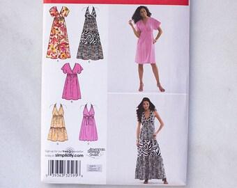 Simplicity 2642 R5 Misses Dress Uncut Sewing Patterns