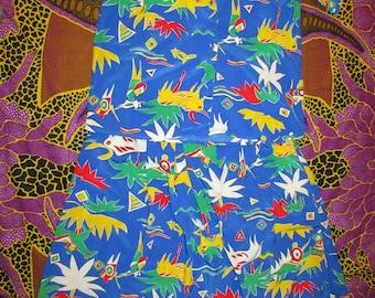 Diane Von Furstenberg Colorful Kenyan/ African print beautiful size 10
