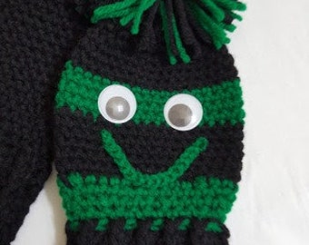 Golf Club Covers Black Green Club Covers Golf Club Head Cover Golf Club Socks Made to Order