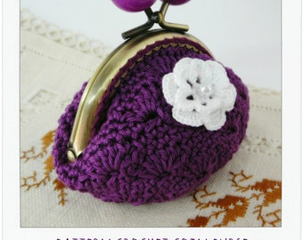 PATTERN Crochet Coin Purse {model nº 1}