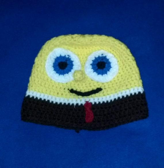 Spongebob Crochet Hat