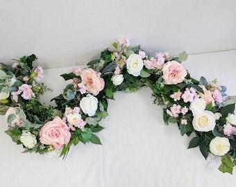 Flower garland wedding flowers silk flowers floral garland flower garland wedding flowers silk flowers floral garland wedding garland silk flower garland rose garland mightylinksfo