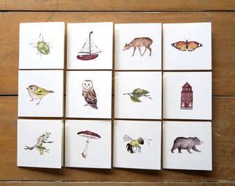 Mini Card Multiple Packs- Choose your own 3, 6, 9 or 12 cards