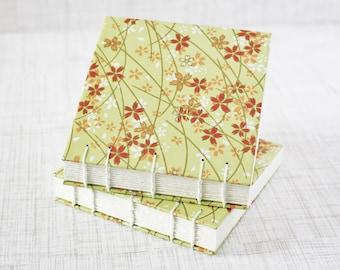 Mini Sketchbook Art Journal Handmade 4x4 Inch Watercolor Sketchbook Pocket Journal Watercolor Journal Travel Journal Gratitude Journal