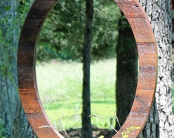 Awesome Mirror, Wood Mirror, Rustic Mirrors, Reclaimed Wood Mirror, Rustic Mirror,  Rustic