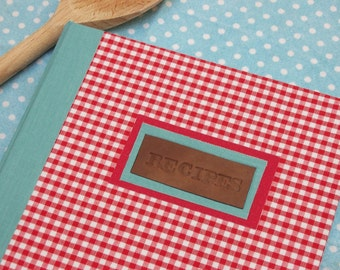 recipe journal a5 - blank or lined - PERSONALISE IT!