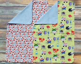 Burp Cloths- Snails Burp Cloth - Humpty Dumpty Burp Cloth- Flannel Burp Cloths- Baby Shower Gift- Cotton Burp Cloths  -Baby Boy- Baby Girl