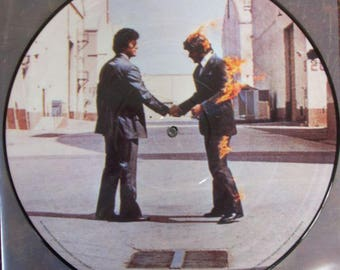 PINK FLOYD Wish You Were Here Picture Disc LP Vinyl Record Mint Brand New Rare Promo Pressing Roger Waters David Gilmour