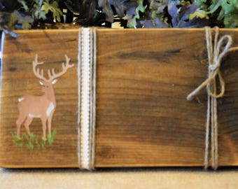 Country Deer Picture Display